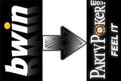 bwin och partypoker logotypes