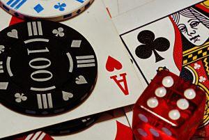 spelkort och marker