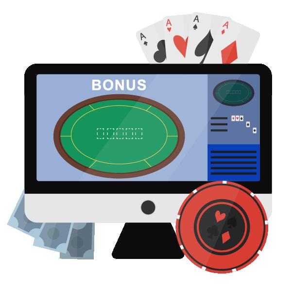 Spela poker med bonus