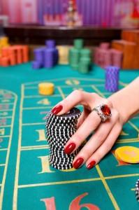 System för att satsa på ett casino