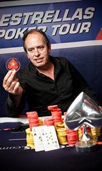 Estrella Poker tour Malaga winner P. Martinez
